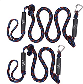 Jranter Pack Of 4 Bungee Dock Lines