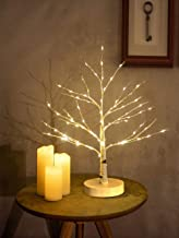 Artificial Decorative Light Tree | 24 Warm White LED Star Batteries USB Operated | Tabletop Decoration Centerpiece | Chris...