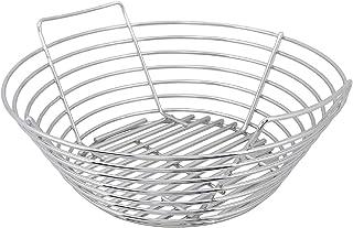 Kick Ash Basket Stainless Steel Charcoal Ash Basket for Big Green Egg Grill - Large