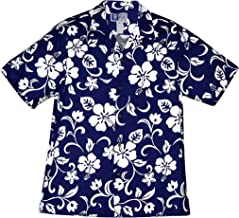 RJC Brand Hibiscus Pareo Men's Hawaiian Shirt