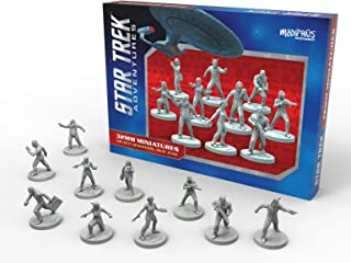 Star Trek Adventures: Next Generation Away Team Miniature Set