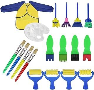 Dapei 5Pcs Bunte Muster DIY Spielzeug Graffiti Werkzeuge Malerei Pinsel Lernspielzeug