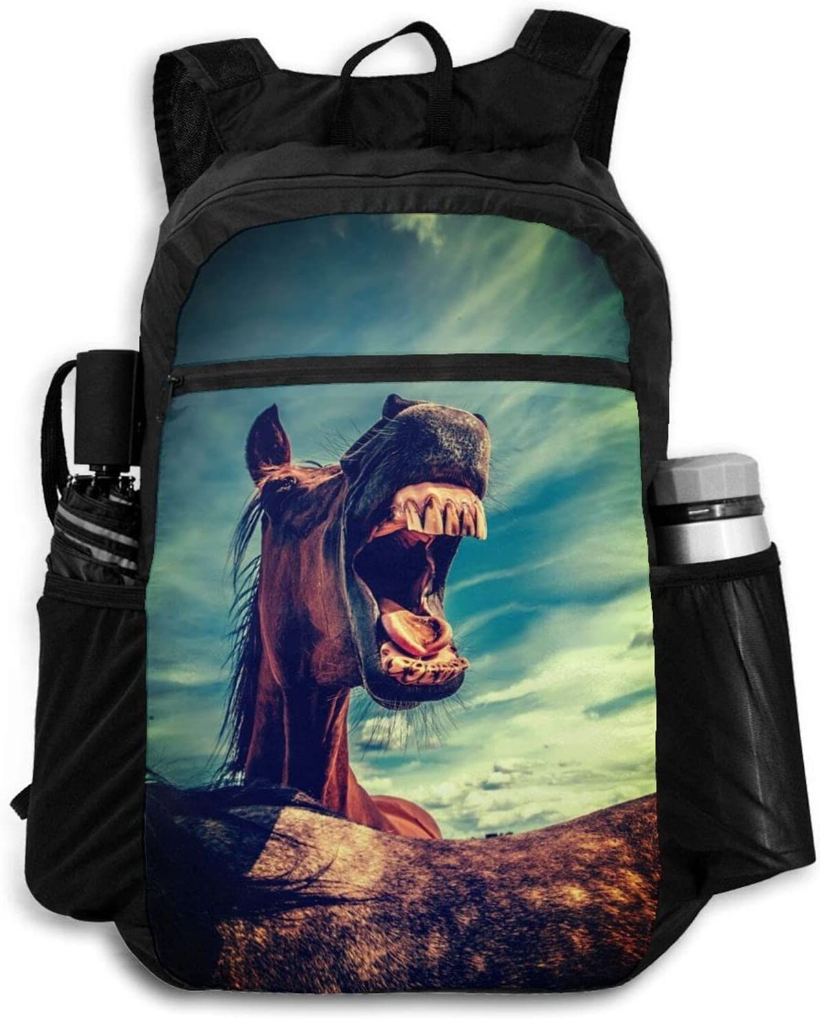 Zolama Funny 2021 spring and summer new Horse Backpacks Japan's largest assortment for Cute Men Packable Women Daypack