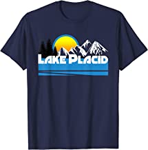 Lake Placid T-Shirt - Retro Style Lake Placid NY Tee-Shirt