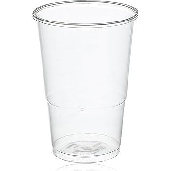 Mical Vaso Transparente plástico 330cc 100u, 100 Unidades: Amazon.es: Belleza