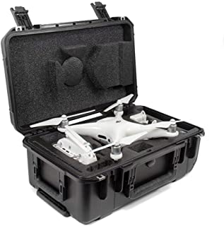 CasePro CP-PHAN4-PRO-CO Carry-On Hard DJI Phantom 4 Pro Case, Black