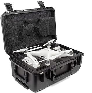 CasePro CP-PHAN4-PRO-CO Carry-On Hard DJI Phantom 4 Pro Case, Black