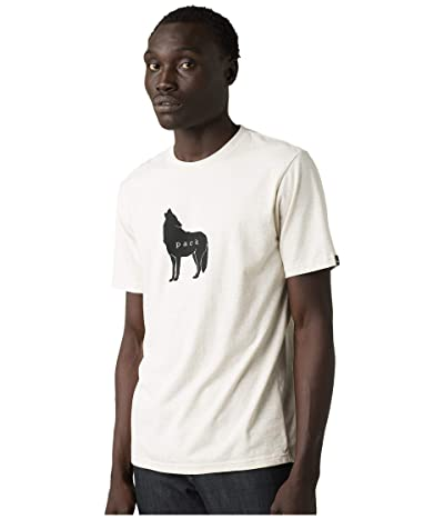 Prana Wolf Pack Journeyman Tee (Stone Heather) Men