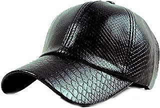 Avory Fashion Baseball Cap Women Fall Faux Leather Cap Hip hop Hats for Men Winter Hat for Women Plan Your own Type