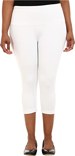Plus Size Cotton Capri 12150
