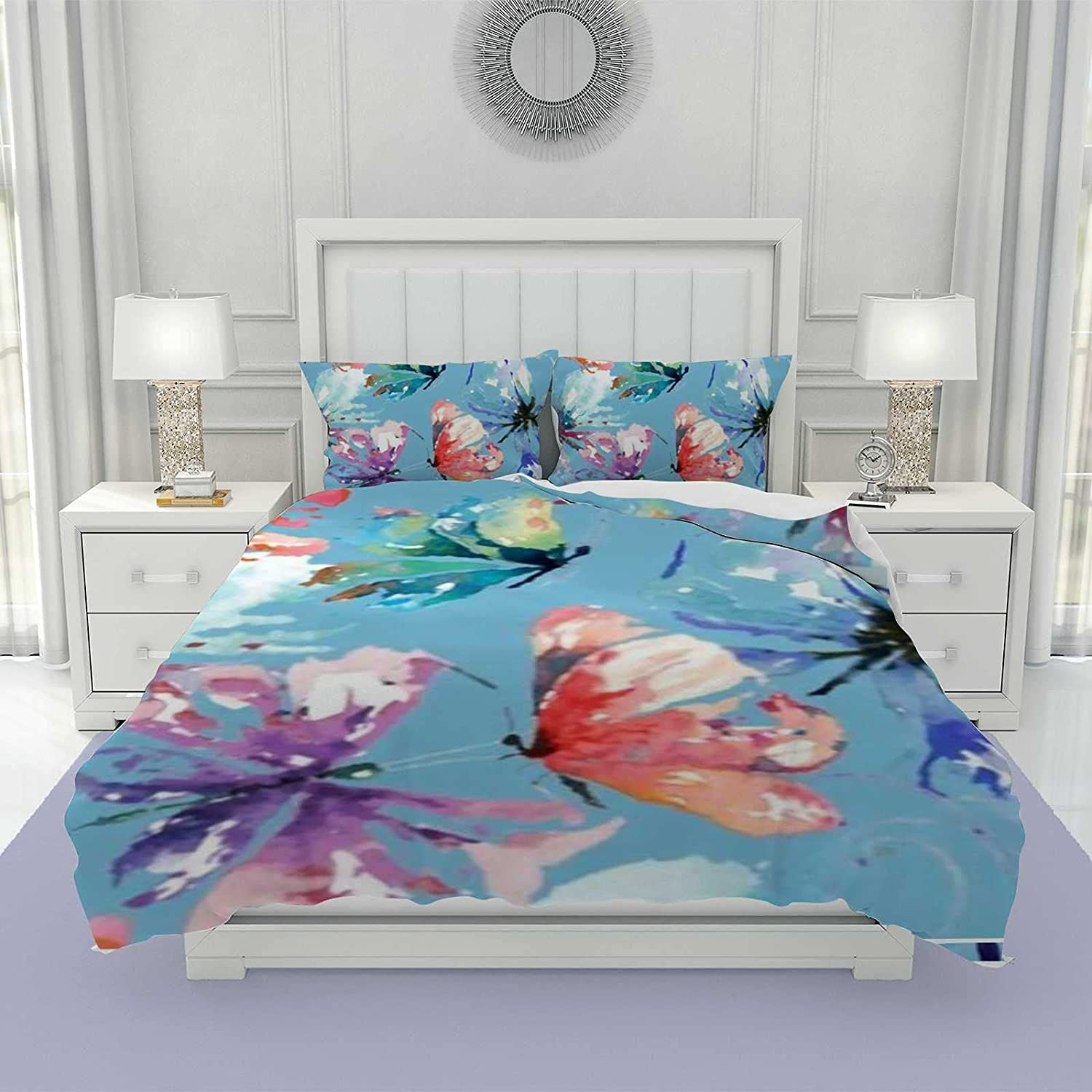 3Pcs Nippon regular agency Duvet Cover Set for Students and Full Size Teenagers Columbus Mall Adults