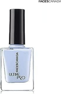 Faces Canada Ultime Pro Gel Lustre Nail Lacquer Powder Blue 39 9ml (Blue)
