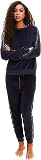 Tommy Hilfiger Velvet Joggers - Navy Blazer Large