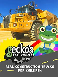 Real Construction Trucks for Children - Gecko's Real Vehicles