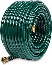 Gilmour 824001-1001 Flexogen Heavy Duty Watering Garden Hose 1/2in x 100 Feet, Green