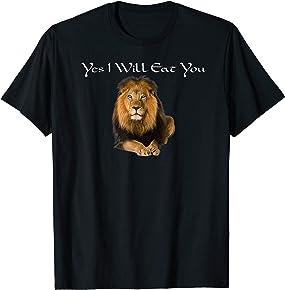 Funny Lion T-Shirt