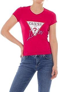 37f3fa29 Guess SS Vn Icon tee Camiseta para Mujer