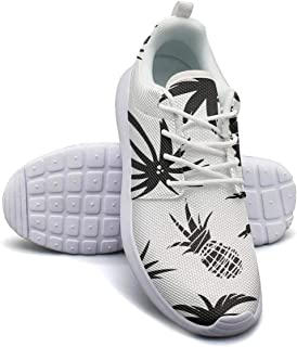 Holle Pineapple Womans Flat Bottom Casual Shoes Light Basketball Shoes