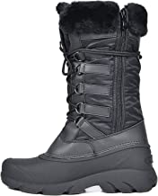 DREAM PAIRS Women's Faux Fur Lined Mid Calf Winter Snow Boots