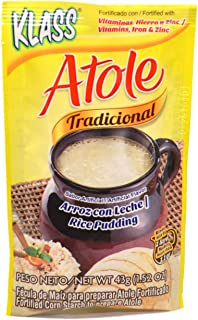 Atole Traditional Rice Pudding / Arroz con Leche (pack of 6)