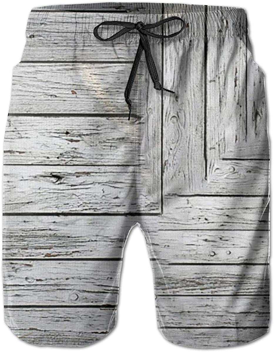 Yt92Pl@00 Men's 100% Limited time for free shipping Polyester White Swim Trunks Board Excellent Print 3D