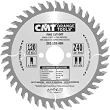 Orange cmt-tools 292,120.40h Saw for Cuts of Precision 120 x 40 x 20 1.8 ATB Z