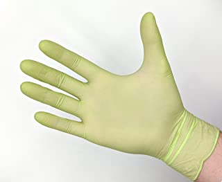 CoreSafe ANSI Abrasion 3 S:7 L51300-13mil Yellow Latex Flock Lined ANSI Puncture 1 1 Pair Chemical-Resistant Gloves