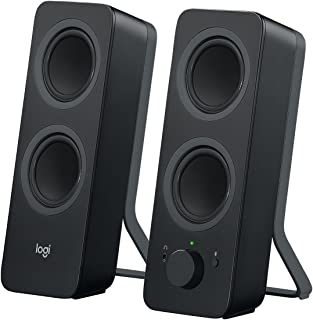 Logitech Z207 Bluetooth® Computer Speakers, Głośniki Komputerowe, Bluetooth, Pc/Mac/Tablet/Smartphone - Czarny,980-001295