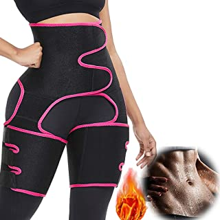 Imguardz Women Hips Enhancer Invisible Lift Butt Lifter Shaper High Waist Trainer Thigh Trimmers, Neoprene Exercise Shapewear Trimmer Belt for Squat Workout Fitness