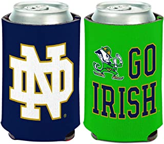 WinCraft NCAA Notre Dame Fighting Irish 1 Pack 12 oz. 2-Sided Can Cooler