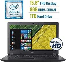 2018 Newest Acer Aspire 5 A515 15.6-inch FHD(1920x1080) Display Laptop PC, 7th Gen Intel Dual Core i3-7100U 2.4GHz Processor, 8GB DDR4 SDRAM, 1TB HDD, 802.11ac WiFi, HDMI, Webcam, Windows 10