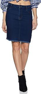 Styleville.in Denim skort Skirt