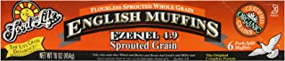 Food for Life, Organic Sprouted Grain English Muffin, 16 oz