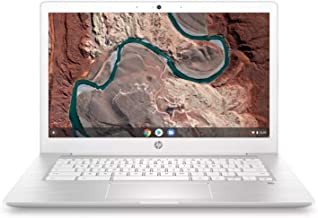HP 14inch Touchscreen Chromebook, Intel Celeron N3350 Up to 2.4GHz, 4GB DDR4 RAM, 64GB SSD, Intel HD Graphics, WiFi, Bluetooth, B&O Play Audio, Chrome OS (Renewed)