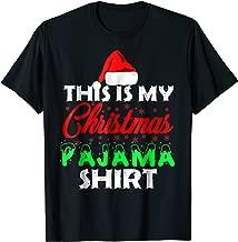 This is My Christmas Pajama Shirt Family Gift Set T-Shirt