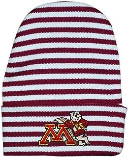 University of Minnesota Goldy Striped Newborn Knit Cap