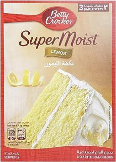 Betty Crocker Super Moist Lemon Cake Mix, 500 gm
