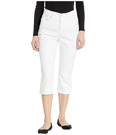 FDJ French Dressing Jeans Statement Denim Multi Pearl Detail Suzanne Capris in White (White) Women
