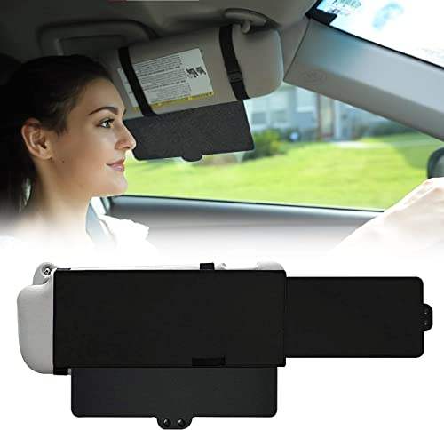 popular EcoNour lowest Car Sun Visor Extender | One Pull Down Sunshade and One sale Side Sunshade Sun Block Piece | Protects from Sun Glare, UV Rays, Snow Blindness | Universal Fit for Most of The Cars outlet sale