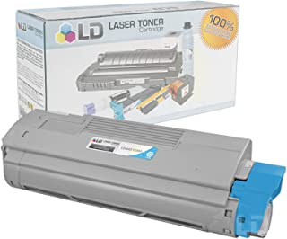 LD Compatible Toner Cartridge Replacement for Okidata C610 Series 44315303 (Cyan)