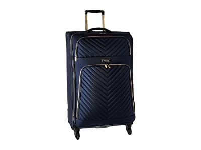 Kenneth Cole Reaction Chelsea 28 Quilted Expandable 4-Wheel Upright Pullman (Navy) Luggage