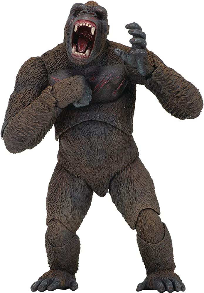Neca - statua di king kong 7 ,  action figure , 20 CM  NECA42749