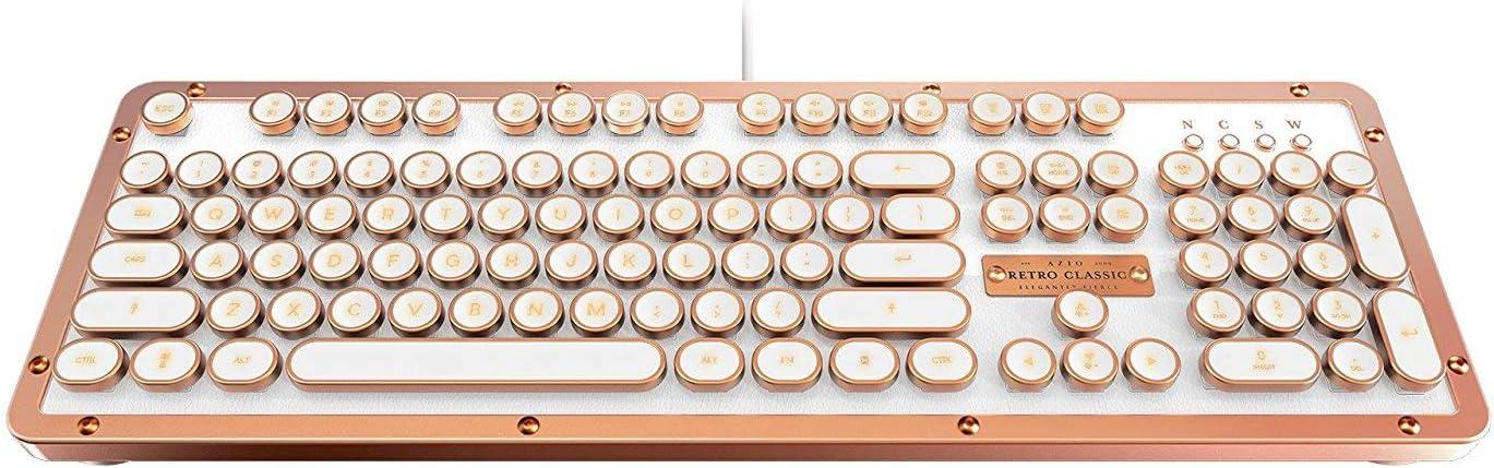 Reservation AzioUSA MK-RETRO-L-02-US Retro Lowest price challenge Classic Posh USB Vintage - Luxury