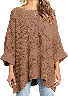 Women's Winter Long Knitted Sweater Dress Off Shoulder...