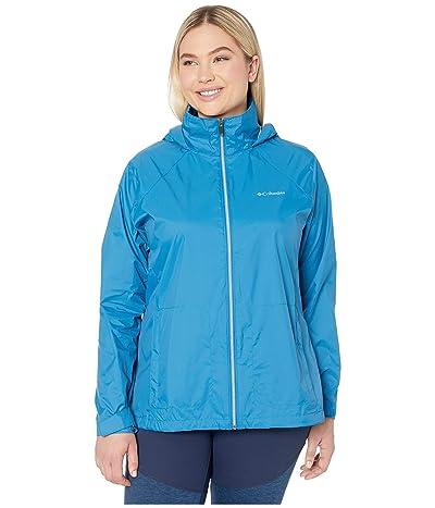 Columbia Plus Size Switchback III Jacket (Dark Pool) Women