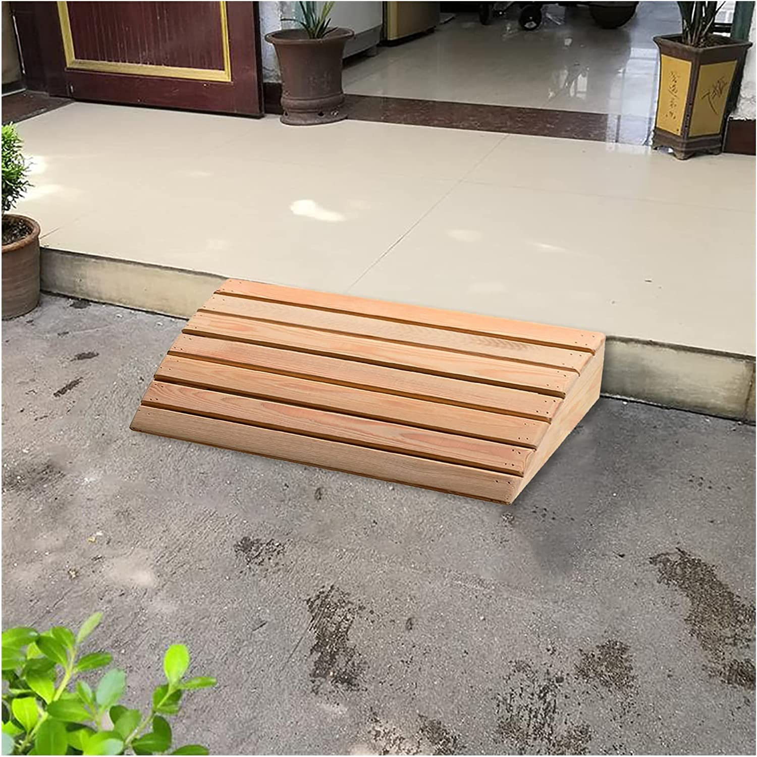 Wooden Threshold Tampa Mall Ramp 4.3 5.9 inch Home 40% OFF Cheap Sale Doorway Entrance R Rise
