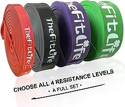 TheFitLife Resistance Pull-Up-Bänder - Pull-Up-Assist-Übungsbänder, Lange Workout-Loop-Bänder zum Dehnen des Körpers, Powe...