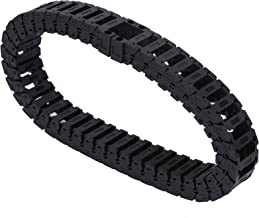 S18 x 25 Kabel Sleepketting, 0,7 meter Draaddrager Brug Sleeplijn Nylon 66 stil Afneembaar voor Graveermachine cnc Machine...