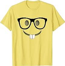 Nerd Emoji Halloween Costume Shirt Adults Group T-Shirt