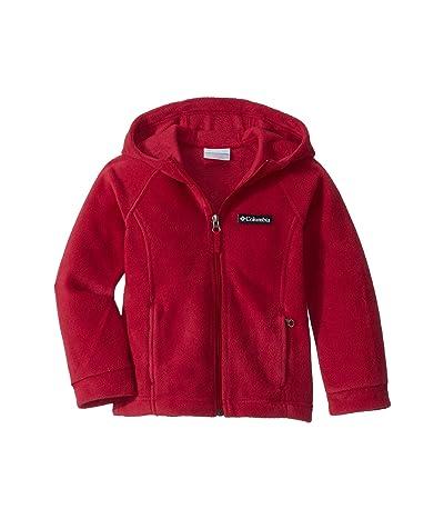 Columbia Kids Bentontm II Hoodie (Little Kids/Big Kids) (Pomegranate) Girl